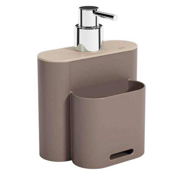Porta Detergente Coza Flat Warm Gray 500ML - 33383