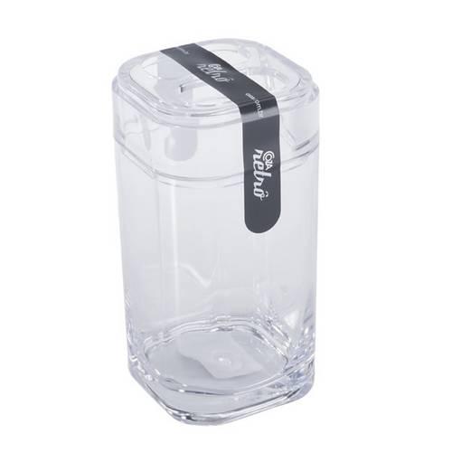 Porta Escova de Dentes Splash Transparente