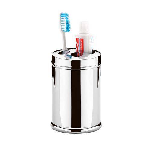 Porta Escova e Creme Dental Inox Decorline 3051/100 Brinox