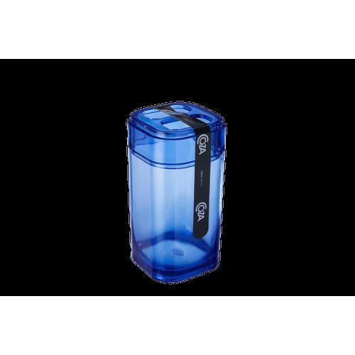 Porta-Escova - Splash 6,5 X 6,5 X 12,7 Cm Azul Coza