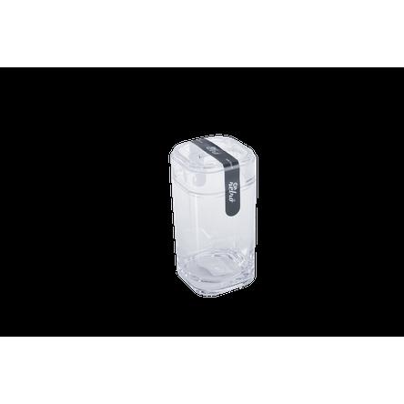 Porta-escova Splash - CR 6,5 X 6,5 X 12,7 Cm Cristal Coza