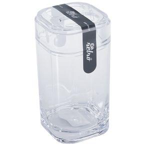 Porta Escova Splash Cristal 20452/0009 Coza