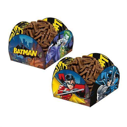 Porta Forminha Batman 40 Unidades Festcolor
