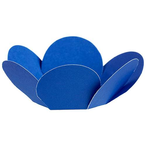 Porta Forminha Girassol Azul Royal - Regina Festas