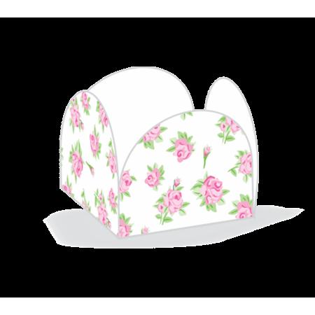 Porta Forminha P/ Doces Floral Branco Porta Forminha para Doces Floral Branco - 50 Unidades