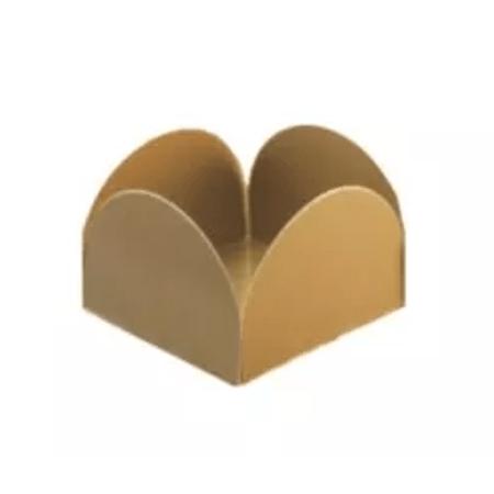 Porta Forminha P/ Doces Ouro Porta Forminha para Doces Ouro - 50 Unidades