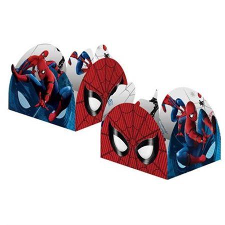 Porta Forminha para Doces Homem Aranha - de Volta ao Lar
