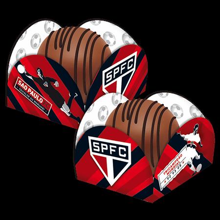 Porta Forminha para Doces São Paulo - 50 Unidades - Festcolor