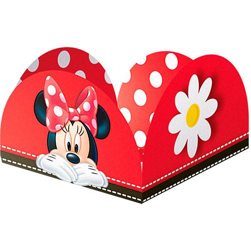 Porta Forminha Red Minnie - Regina Festas