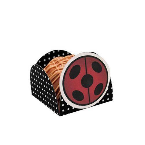 Porta Forminhas Ladybug 12 Unidades