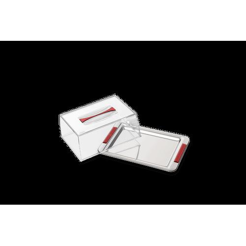 Porta Frios Empilhável - Vintage 20 X 13,2 X 8 Cm