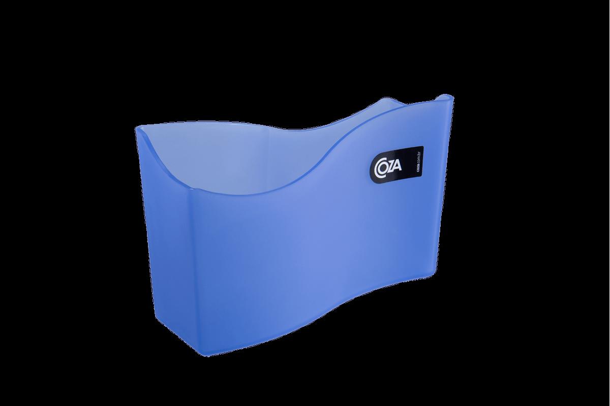 Porta Guardanapo Grande Cozy 18 X 7 X 12 Cm Azul Coza