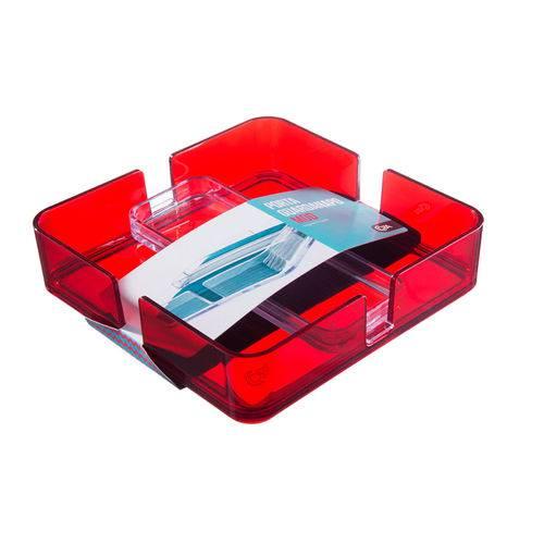Porta Guardanapo Modular Coza Vermelho