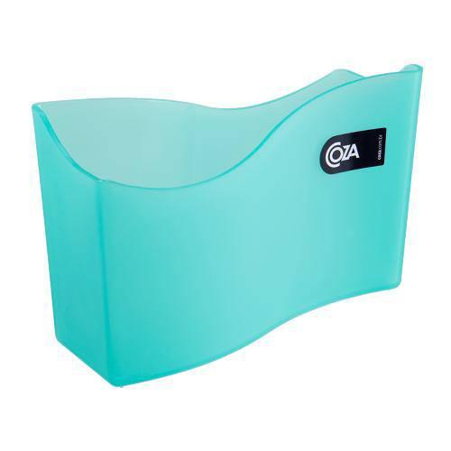 Porta Guardanapo Verde Transparente 18 Cm Coza