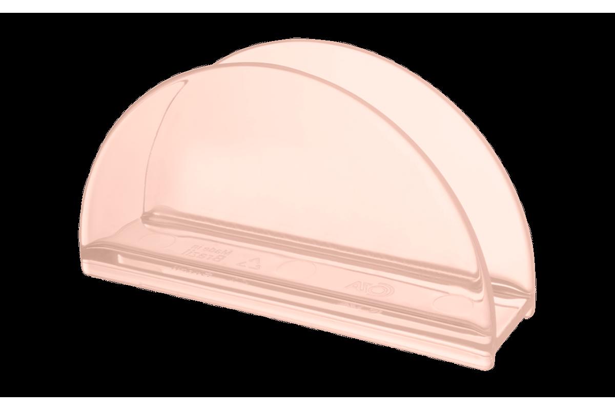 Porta-guardanapos Cozy 13,7 X 6 X 10 Cm Rosa Blush Coza