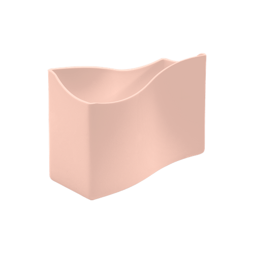 Porta-guardanapos Cozy Pequeno 13,7 X 6 X 10 Cm Rosa Blush Coza