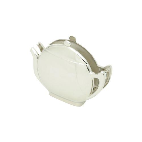 Porta-guardanapos em Zamac Silver Planet Lyor Teapot 15cm