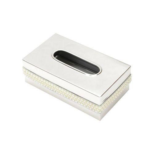 Porta Lenço de Papel 23cm em Aço Inox Pérola Prestige - R27315