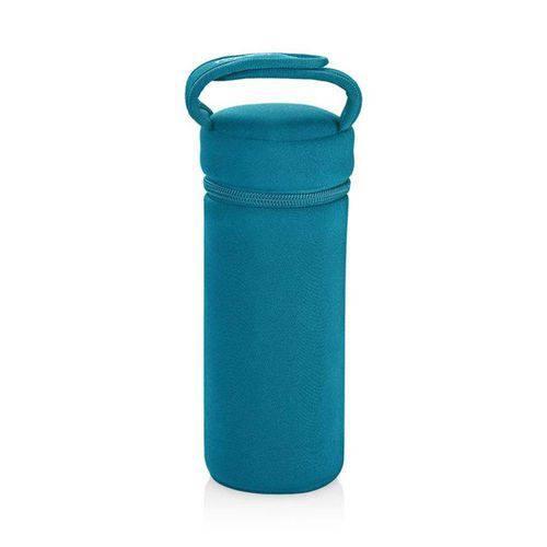 Porta - Mamadeiras Termico Azul