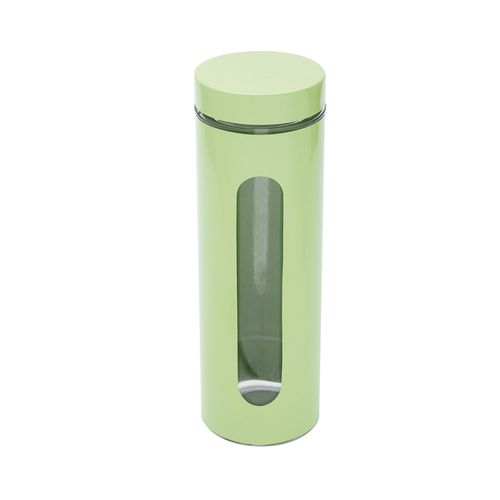 Porta Mantimentos em Aço Inox Bon Gourmet 1,6 Litro Verde