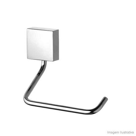 Porta Papel Higiênico Cromado Loren Square 2020 C67 Lorezentti