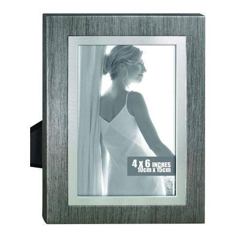Porta-retrato 10x15 Cm Chumbo