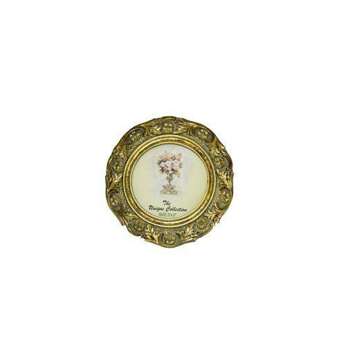 Porta-retrato 11cm Dourado
