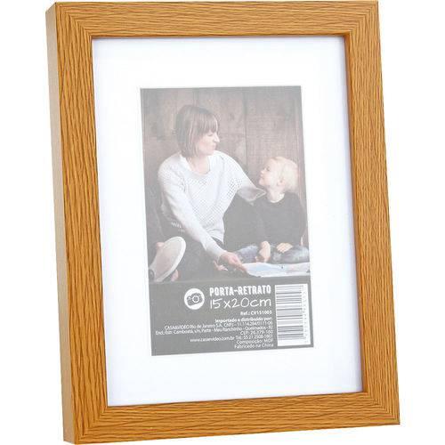 Porta-retrato 15x20cm Marrom