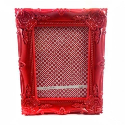 Porta Retrato 15x20cm Plastico Queen Vermelho