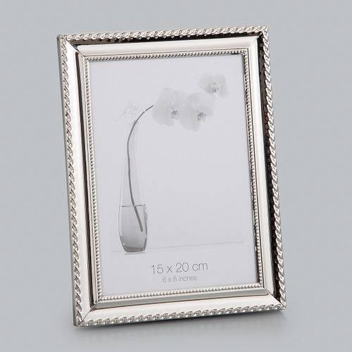 Porta Retrato 21cm Aço Knot Prestige - R25503