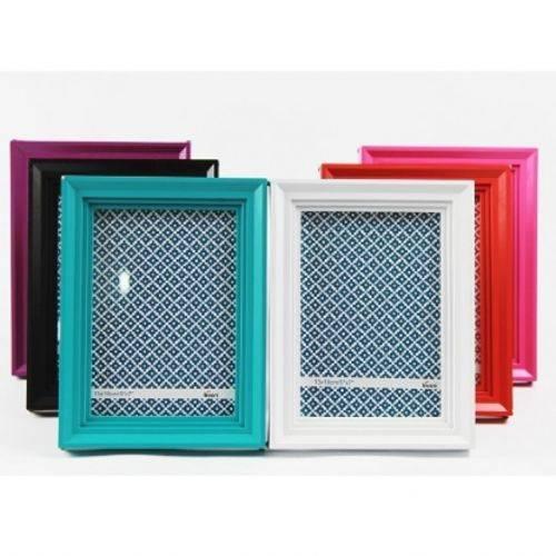 Porta Retrato 13x18cm Plastico Colorido