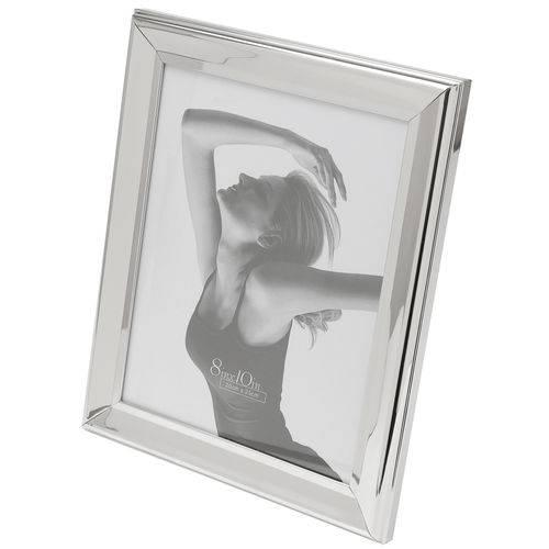 Porta Retrato Aço 13x18 Cm Prata