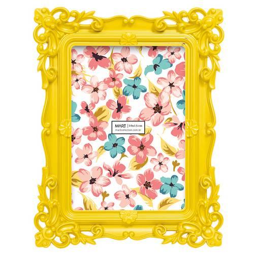 Porta Retrato Amarelo 10 X 15 Cm - Mart