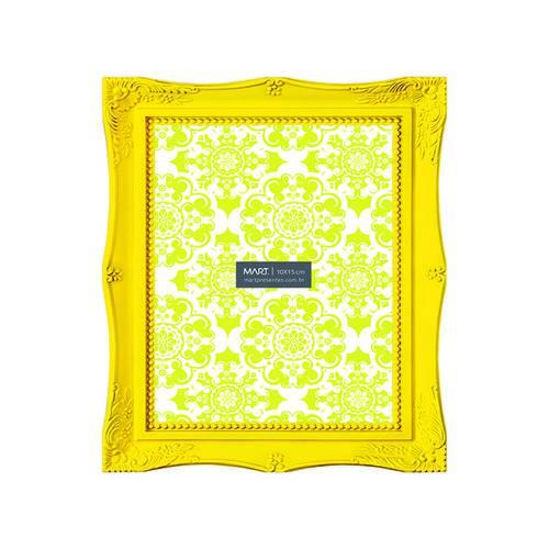 Porta-Retrato Amarelo 10x15 Cm Flash