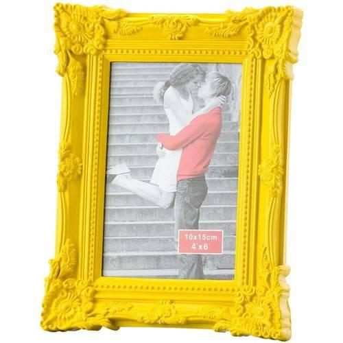 Porta-Retrato Amarelo 10X25 Retrô 3048 Lyor
