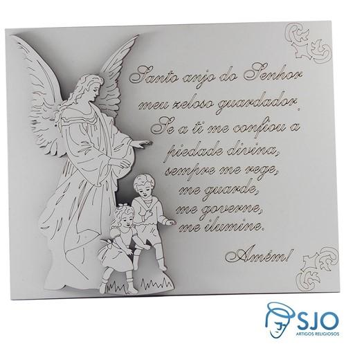 Porta Retrato Anjo da Guarda com Oração