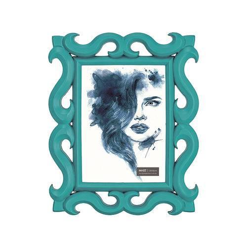 Porta-Retrato Azul - 13 X 18 Cm