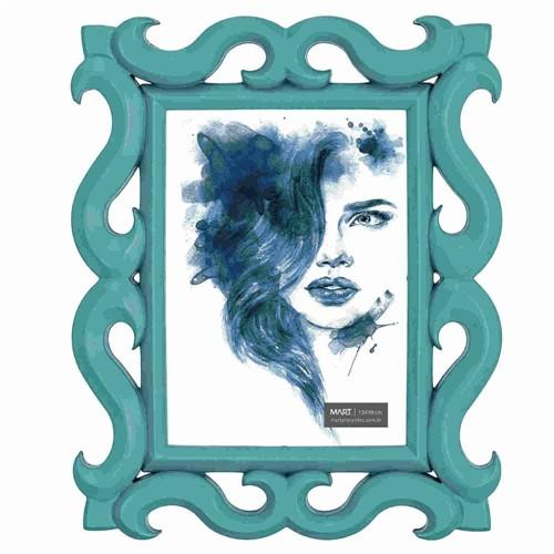 Porta-Retrato Azul 13X18