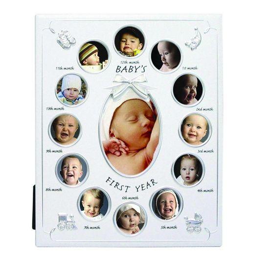 Porta-Retrato Baby Primeiro Ano