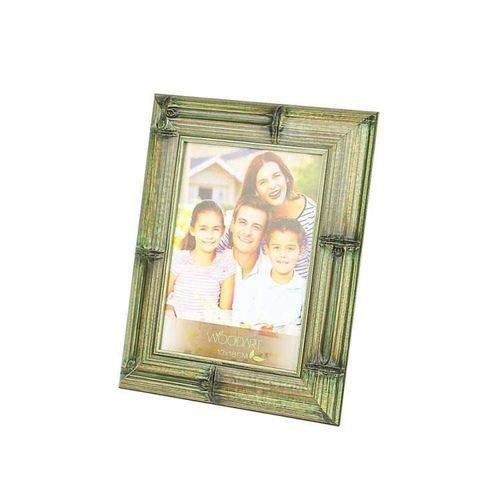Porta Retrato Bambu Verde 20cmx25cm Rojemac Verde