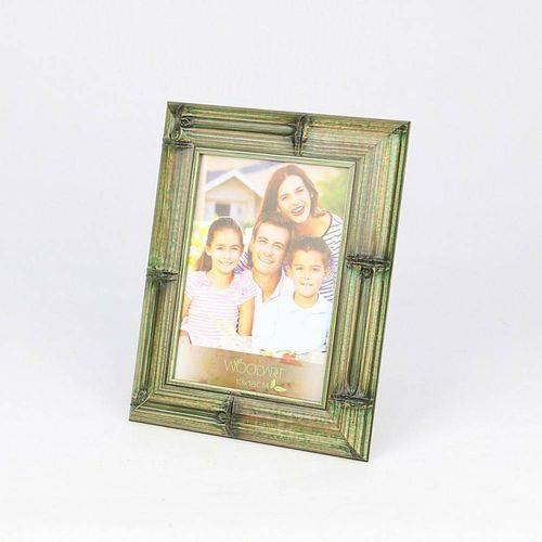 Porta Retrato Bambu Verde 13cmx18cm Rojemac Verde