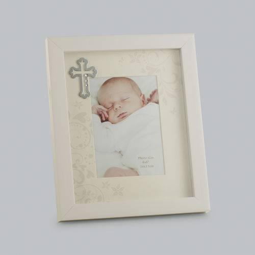 Porta Retrato Baptisum Day de Plástico 10X15 Cm