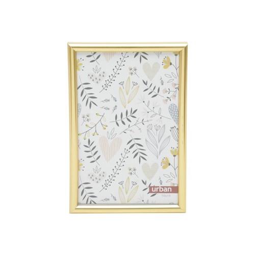 Porta Retrato Basic Dourado 10x15 Cm