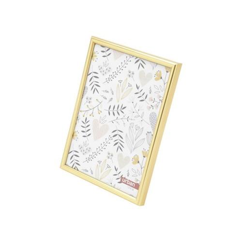 Porta Retrato Basic Dourado 13x18 Cm