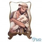 Porta-Retrato Bom Pastor - Modelo 1   SJO Artigos Religiosos