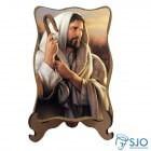Porta-Retrato Bom Pastor - Modelo 2   SJO Artigos Religiosos