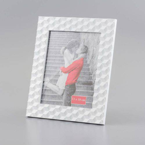 Porta Retrato Branco 3d 13 X 18 Cm 30165