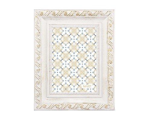 Porta Retrato Branco Dourado - Compre na Imagina só Presentes