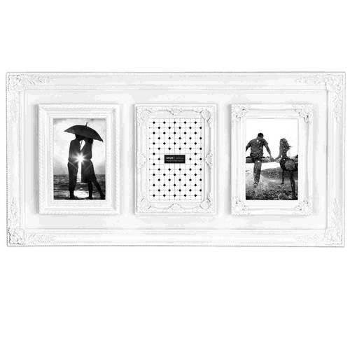 Porta Retrato Branco - 3 Fotos 10x15