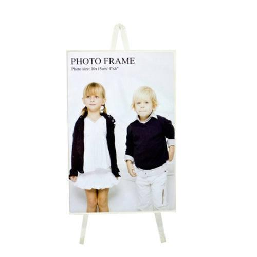 Porta Retrato Cavalete 10x15 Cm Foto Fotografia Moldura Mesa